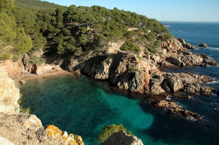 Full appartment w.pool, Costa Brava - Palafrugell - Appartement