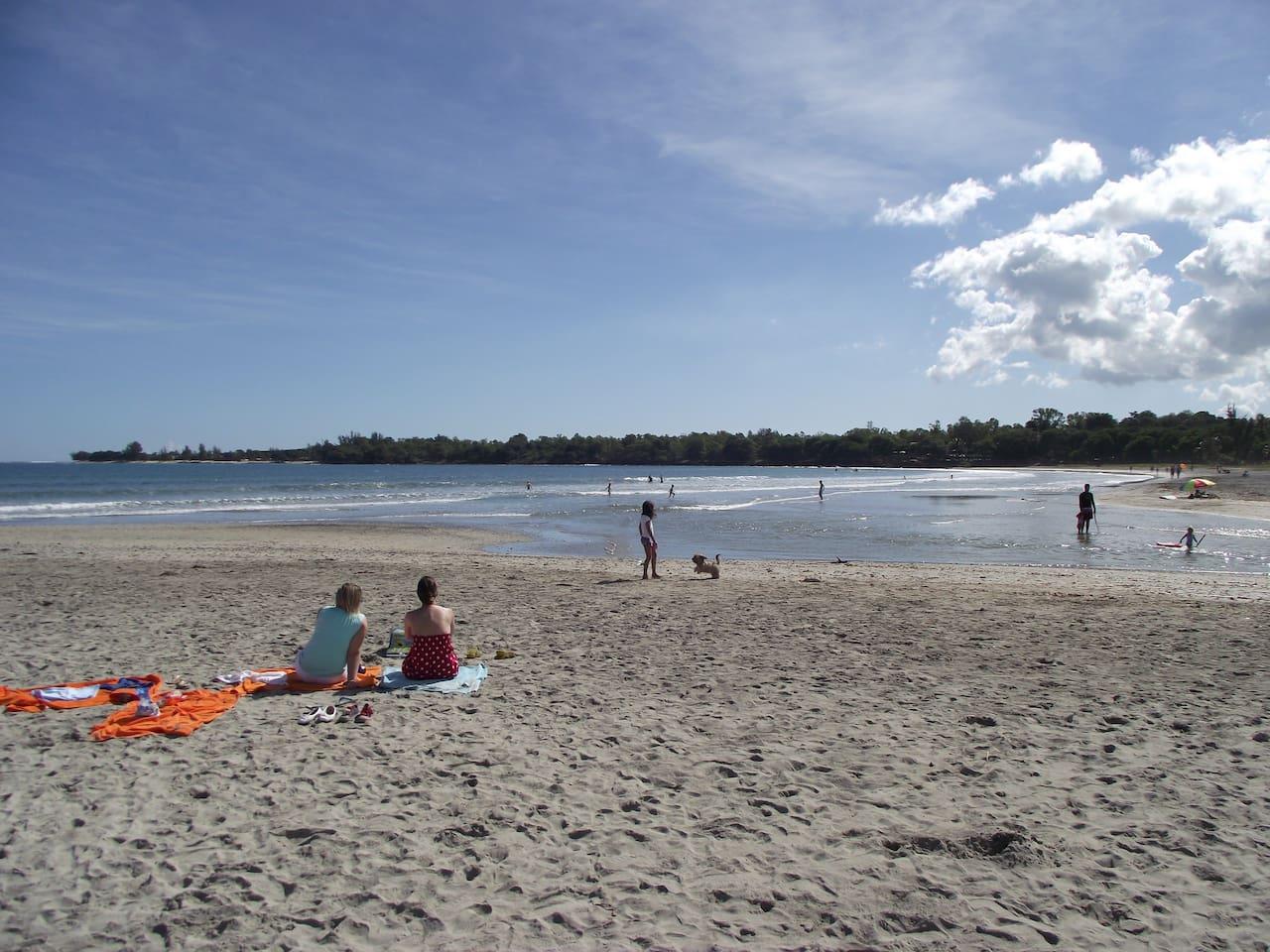 A winter sunday morning - Tamarin Beach