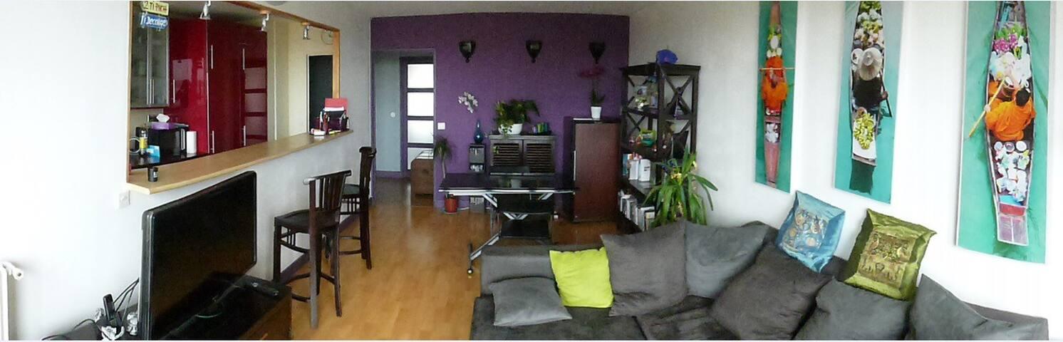Appt 3P 65m2 avec balcon 15'paris - Nanterre - Condominio