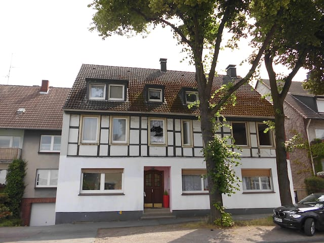 2 apartm in one floor completely for 17 people condominiums for rent in dortmund north rhine. Black Bedroom Furniture Sets. Home Design Ideas