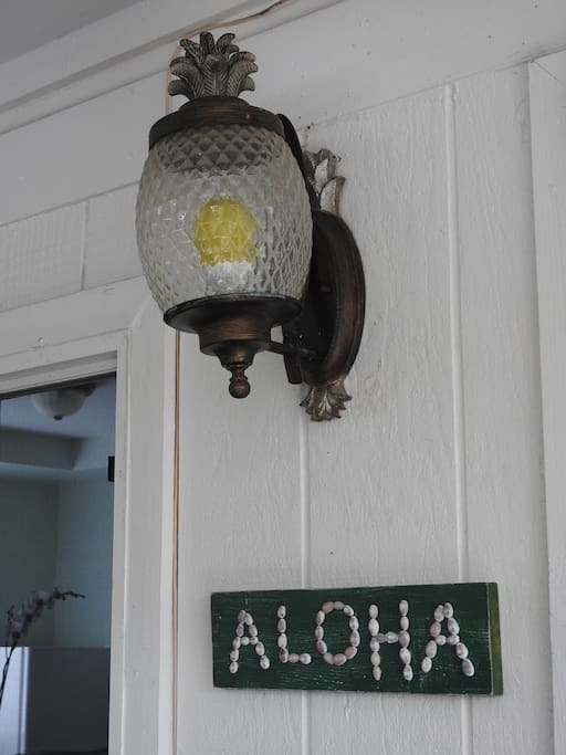 Aloha is everywhere in this guest suite from the moment you arrive.