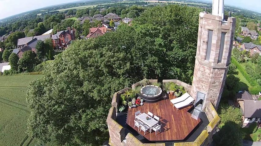 The Master Suite in Award-Winning Water Tower