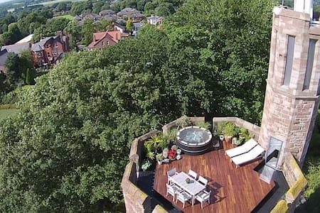 Penthouse Suite in Award-Winning Water Tower