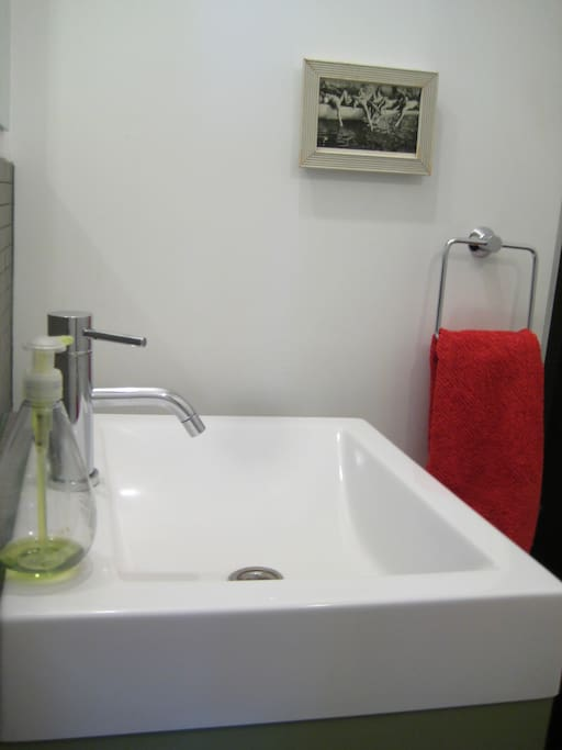 """View-1 of the """"contemporary"""" style bathroom."""