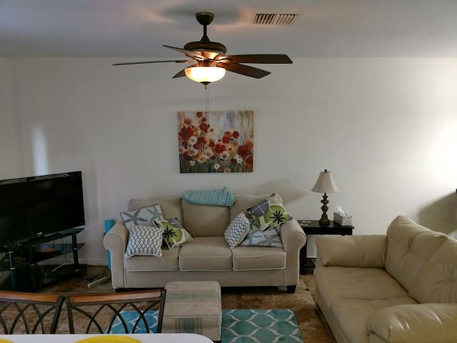 Cozy 2 bedroom house close to Tampa