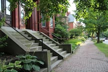 One of the most beautiful and historically intact streets in Portland.