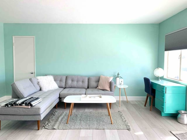 Downtown Mid-Century Apartment. Happy Minimalism.