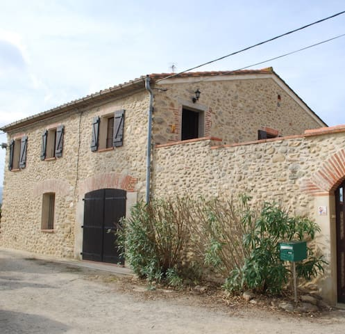 Converted Farmouse in a stunning  Vineyard setting - Saint-Jean-Pla-de-Corts - House