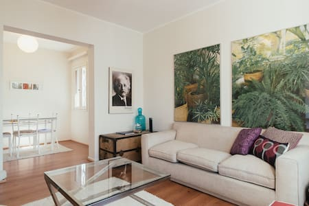 Big, bright & charming. Boutique flat OMG location - Providencia