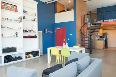 Sunny Dogpatch Loft with Bay View - San Francisco