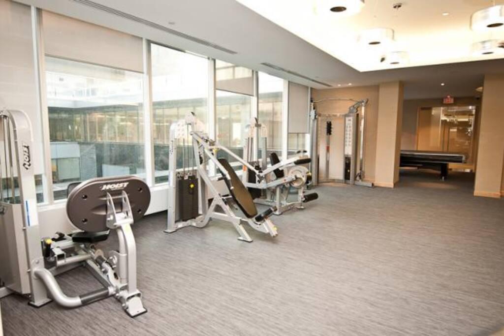 Gym & Fitness Area