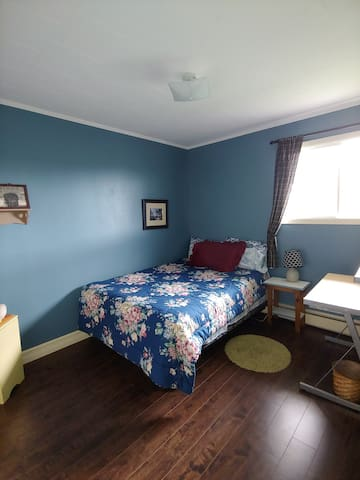 Double size bed upstairs