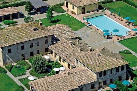 2 room apt near Trasimeno Lake - Rigutini - Apartamento