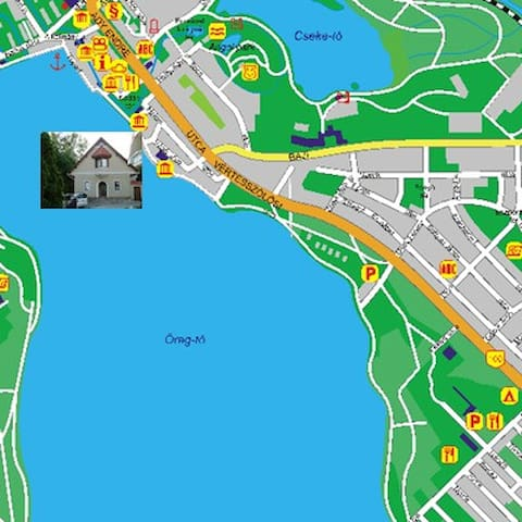 Lakeside apartment in Tata, HU/  for longterm also