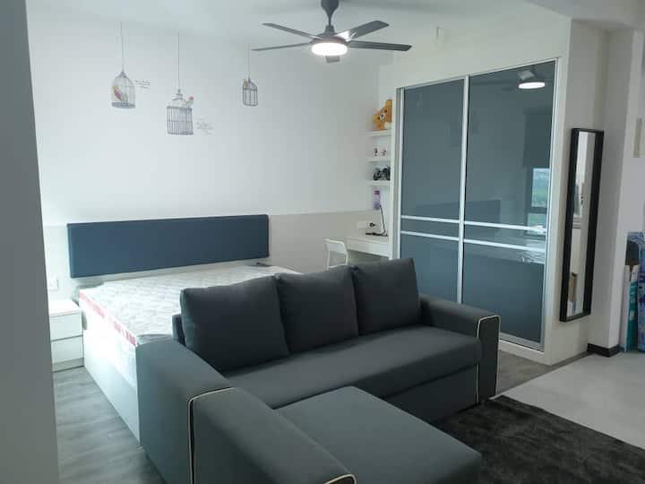 Batu Kawan fully furnished studio house
