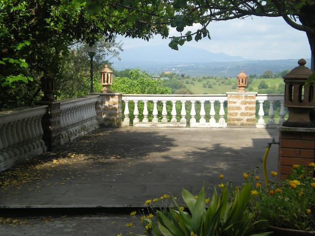 italian Villa with stunning view!!! - Magliano Sabina - Vila