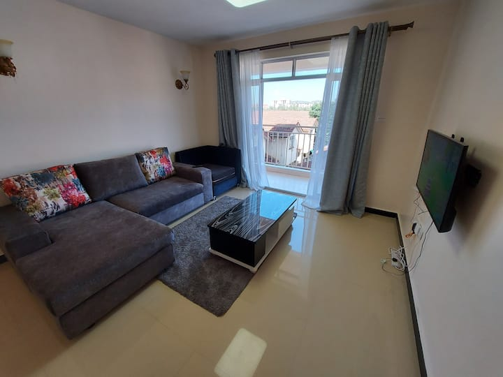 Quiet fully furnished 2BR Apartment
