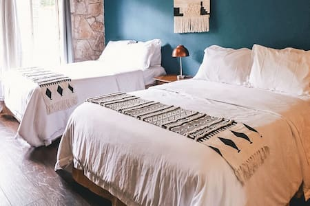Double Bed at Cypress Falls