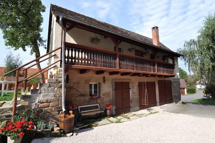 Landhaus Sahrhof - Trebgast - Dům
