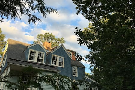 Historic, Charming Victorian in the Woods - Wurtsboro - Huis