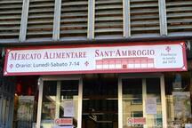 Nearby the apartment - Mercato Sant'Ambrogio