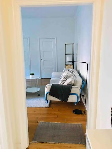 Light spacious studio near Liseberg & city center.