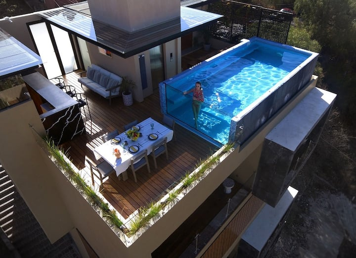 Casa Meraki (Dasos Apt)/The best view & pool.