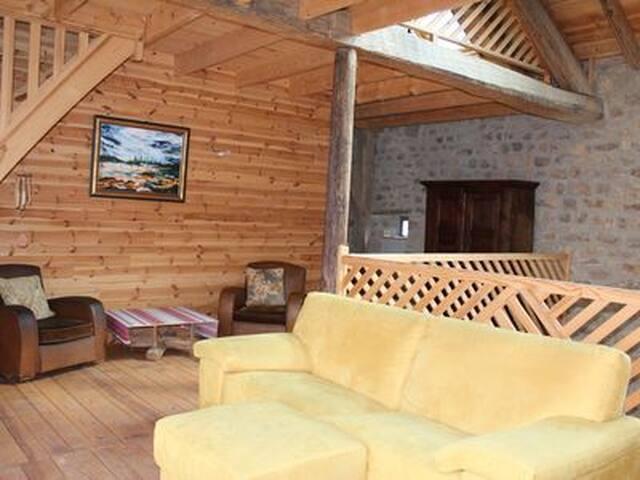 Spacious modern renovated farmhouse