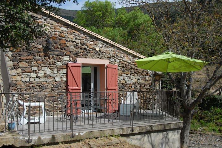 Maison de caractère  pied du Caroux - Taussac-la-Billière - Casa