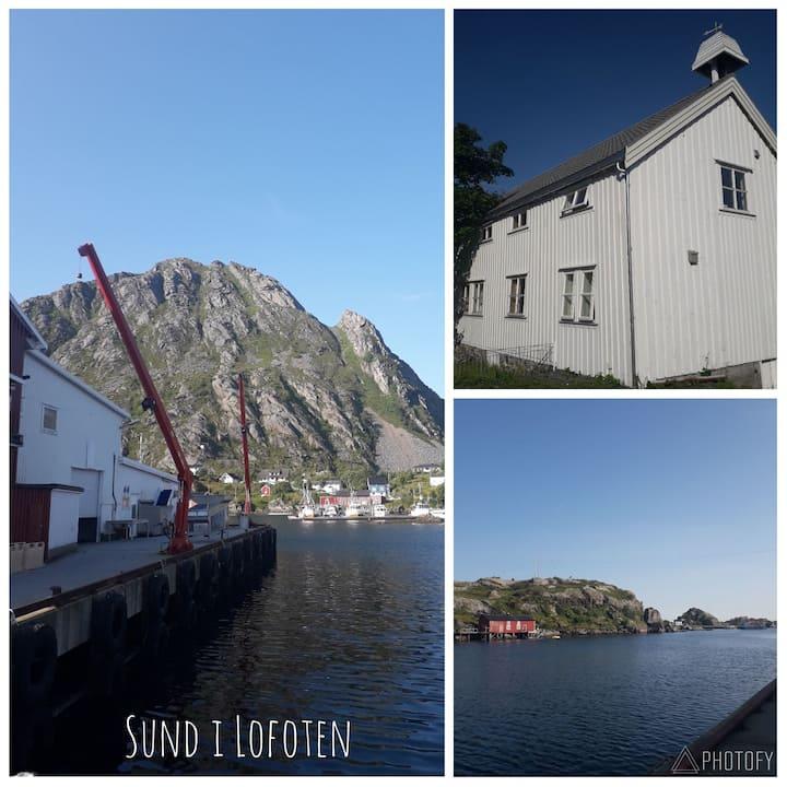 Lofoten - Stor leilighet i idyllisk fiskevær