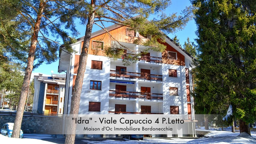 """Idra"" Centro - Apartment With Excellent View - Bardonecchia"