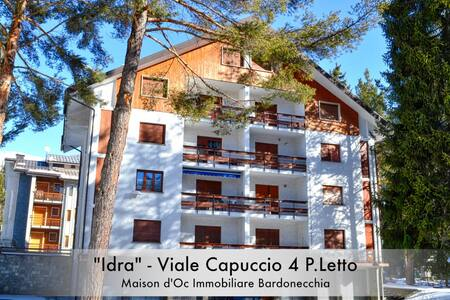 """Idra"" Centro - Apartment With Excellent View - Bardonecchia"