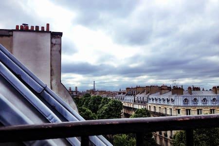 Joli studio sur les toits de Paris - Paris - Appartement
