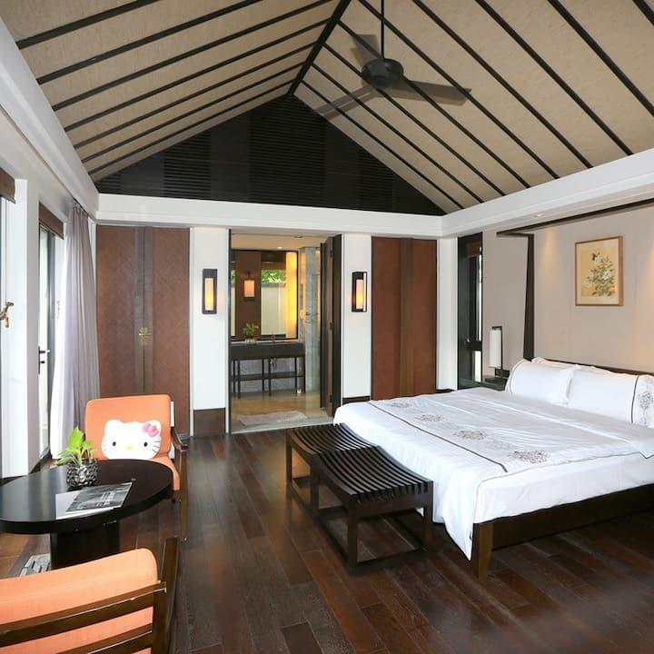 逸墅,位于海南香水湾君澜度假酒店内的私家别墅。