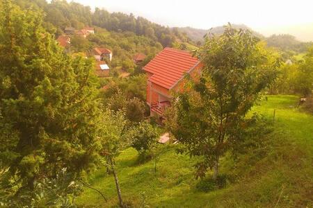 Mountain house in Macedonia