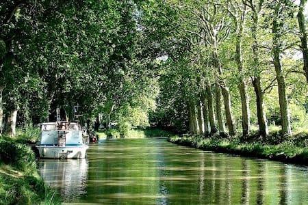 Au bord du Canal du Midi, Lauragais, havre de paix - Labastide-d'Anjou - Ev