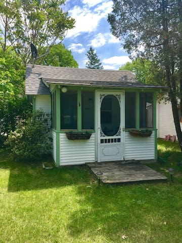 Sand Castles Cottages #1 Tiny House 1 Mile Lake MI