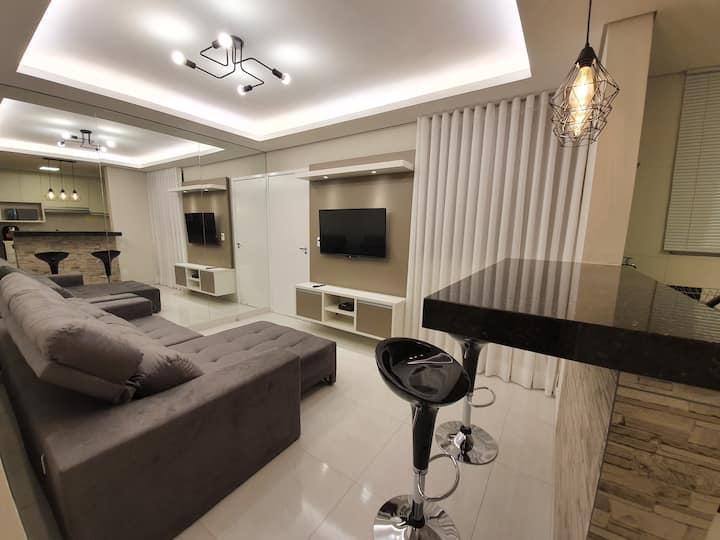 Apartamento premium e sofisticado em Uberlândia