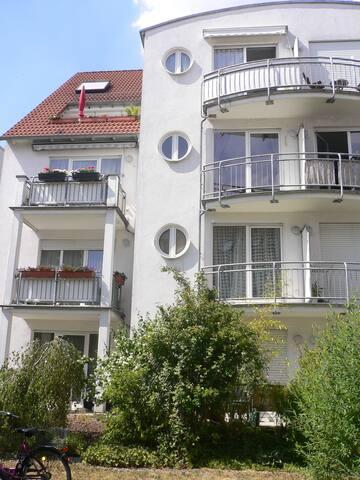 Helle, moderne 1-Zi-Wohnung mit Balkon in Bornheim