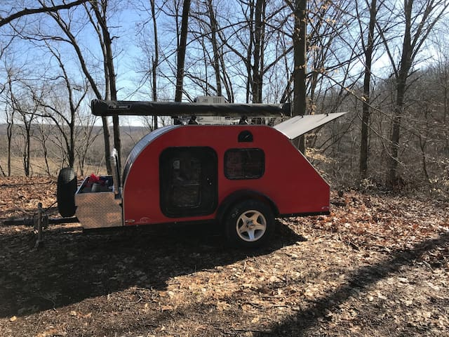 Teardrop Camper All you need included, YES ALL