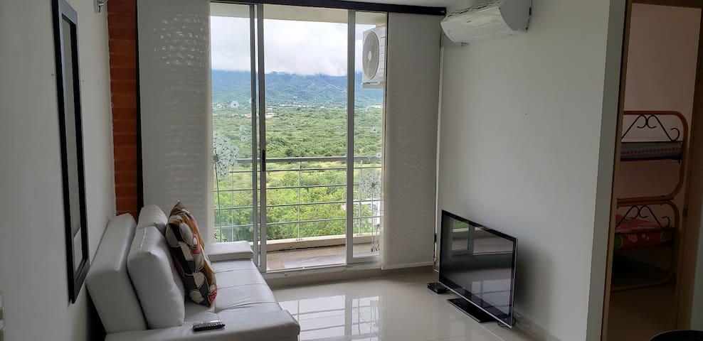 Apartamento Vista Montaña Amoblado Piscina Jacuzzi
