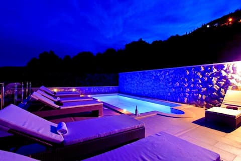 Family Vacation Home with Private heated Pool