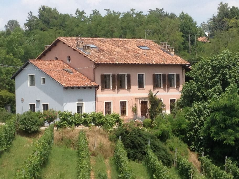 House from the vineyards