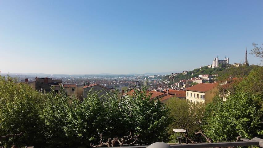 Duplex, vue panoramique hypercentre