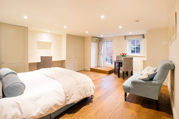 Luxury studio apartment, Summertown - Oxford - Lejlighed