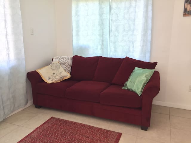 clean comfy specious home, central location