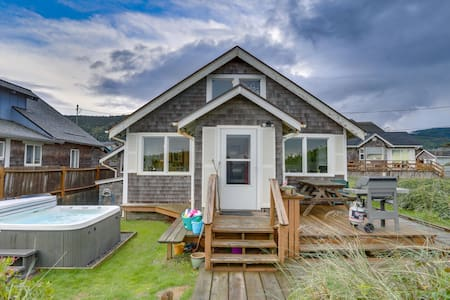 The Rising Tide Oceanfront Cottage- Dog Friendly!