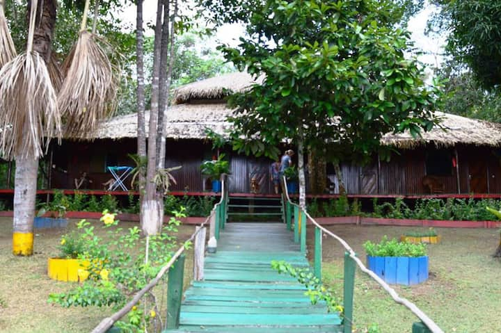 A beautiful Jungle Lodge in Manaus