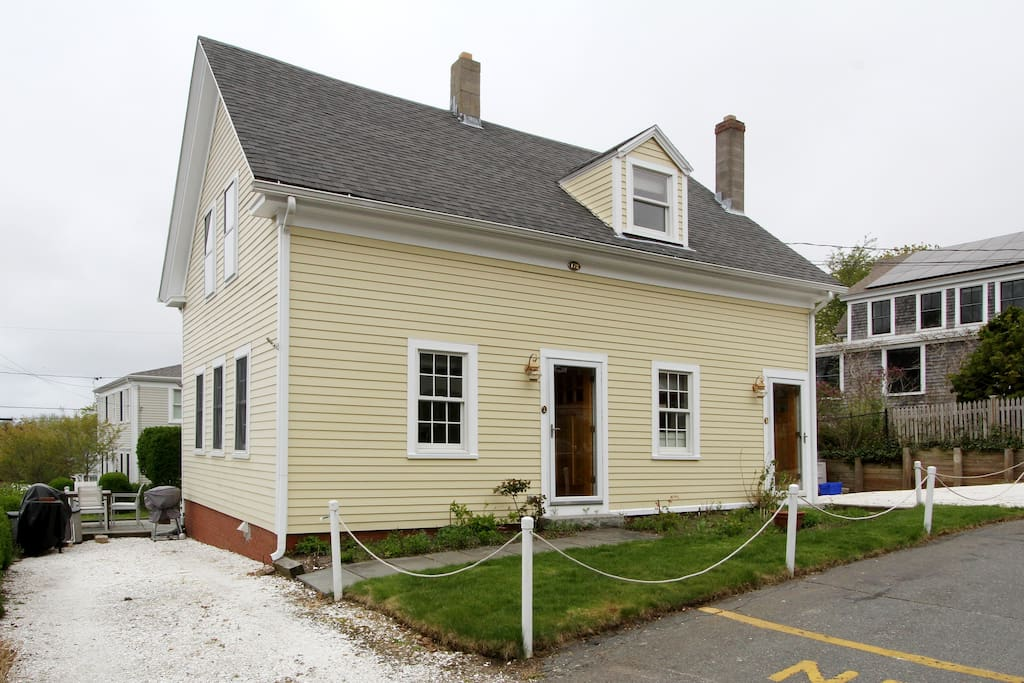 Your rental is located on a quiet street in Provincetown's East End.