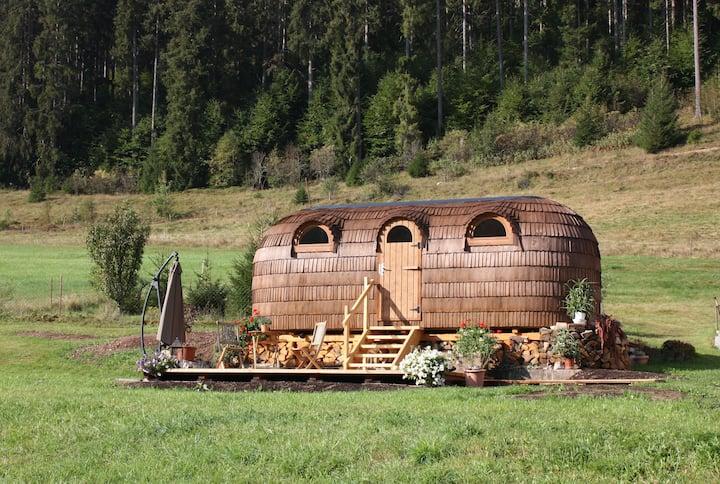 Igluhut Tiny House am Winterberghof